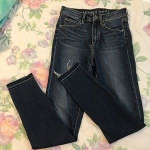 Articles of Society High-Waisted Skinny Jeans